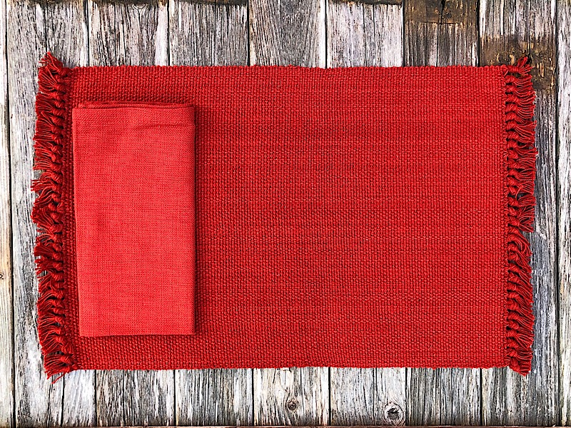 Persimmon Classic Linens,111-01K-PLACEMAT