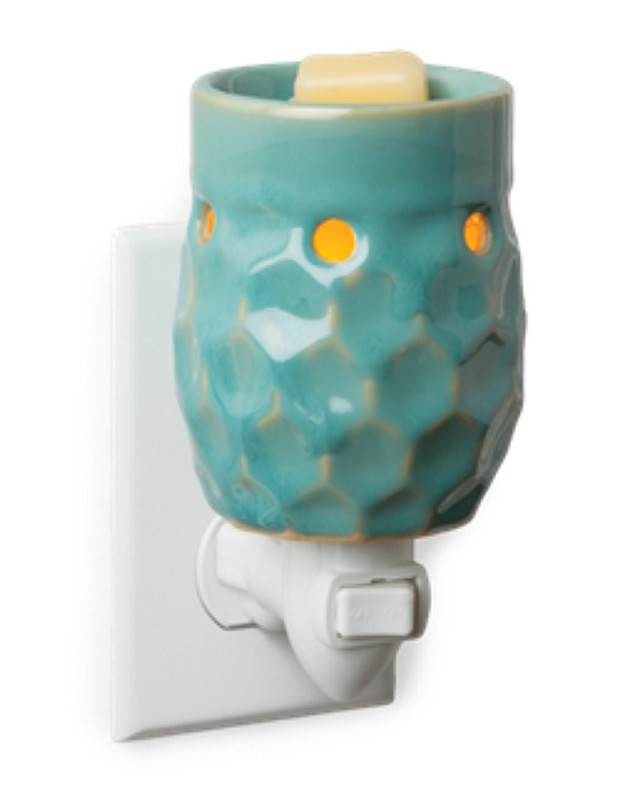 Honeycomb Turquoise Plug-In,PI10