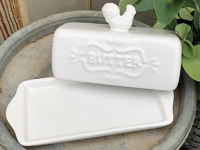 Rooster Butter Dish,76508