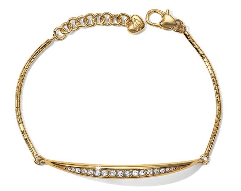 Gold Contempo Ice Bracelet,JF0915
