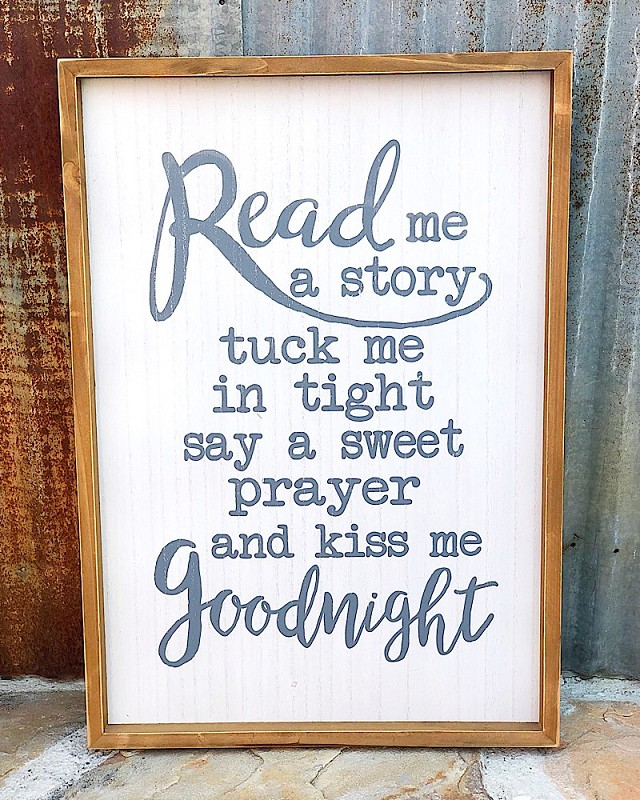 Read Me A Story Sign,17357