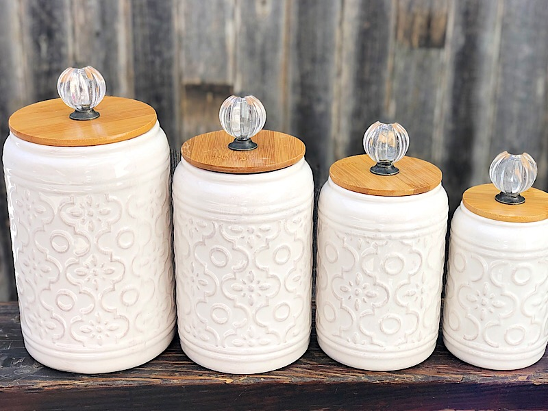 Camille 4 Pc Canister Set,17718