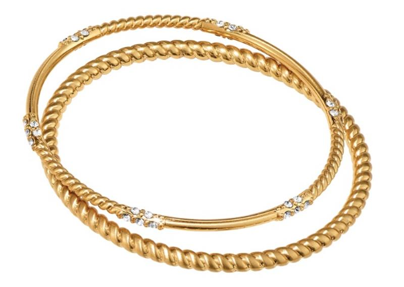 Neptunes Rings Gold Rope Bangles,JF4275