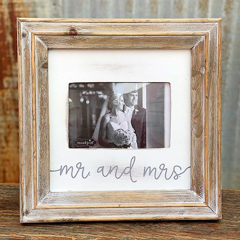 "Mr and Mrs 4x6"" Frame,4695425"