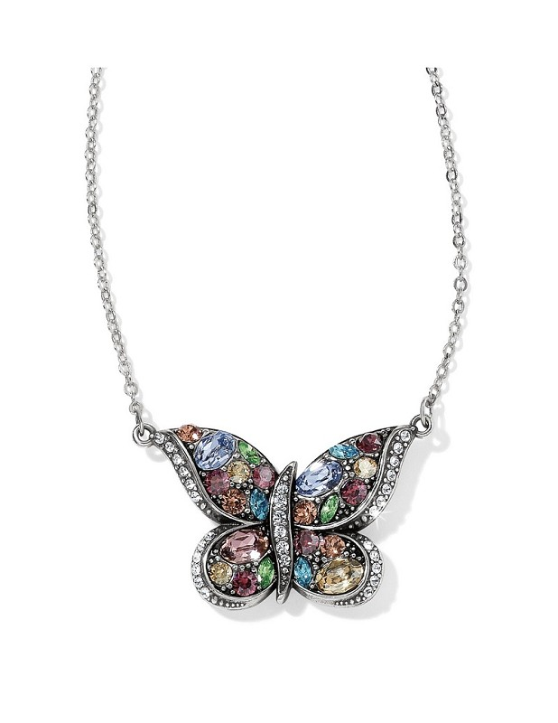 Trust Your Journey Butterfly Necklace,JL5611
