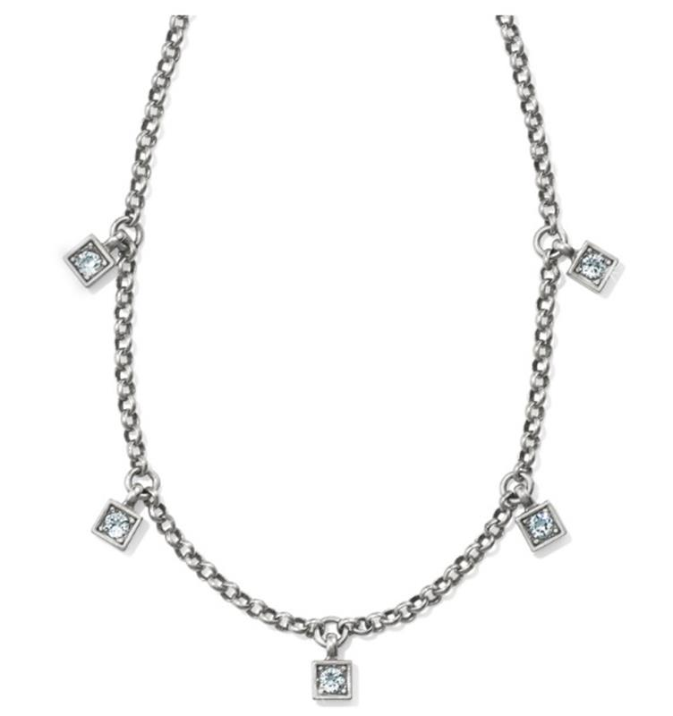Meridian Zenith Station Necklace,JL8321