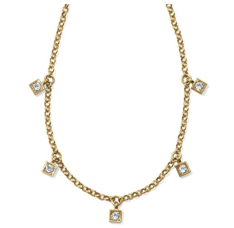 Meridian Zenith GB Station Necklace,JL8325