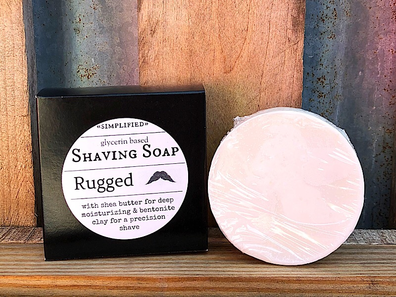 Rugged Shave Soap,RUGGEDSHAVE