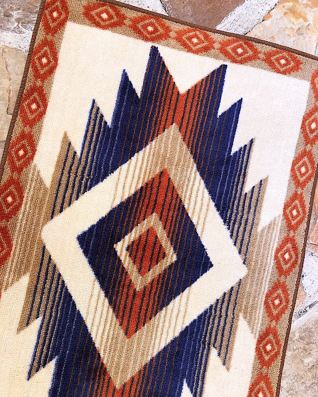 Aztec Inspired Rug,BW3516