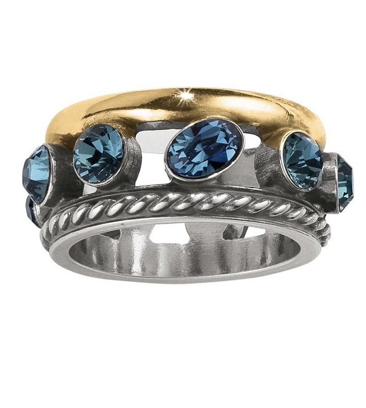 Neptunes Rings Gem Ring,J62583-8