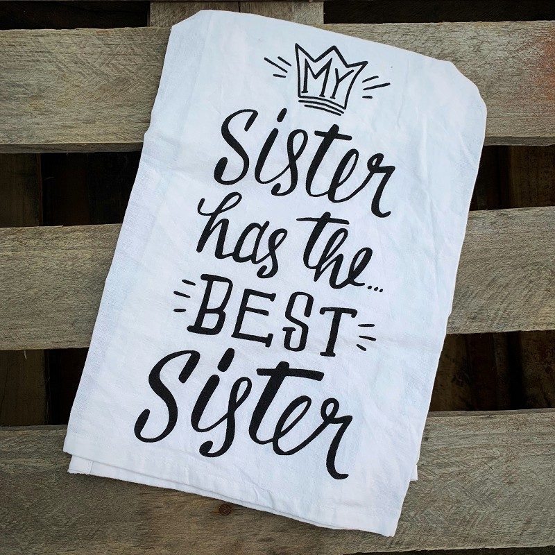 Best Sister Towel,26950