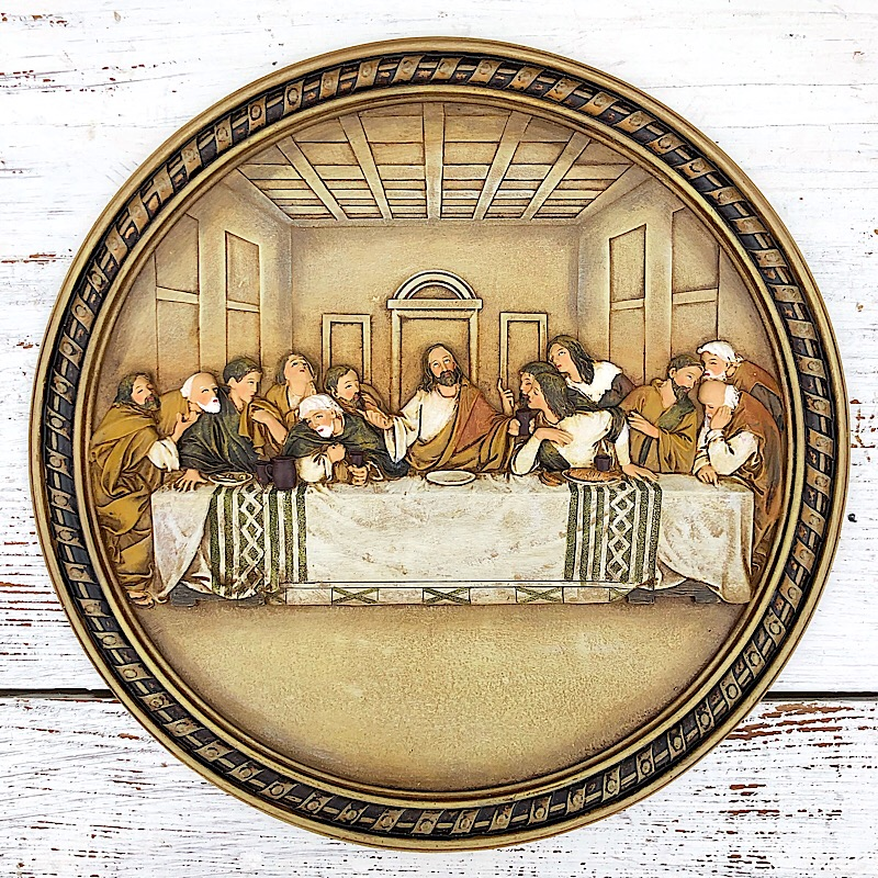 Last Supper Plate,63402