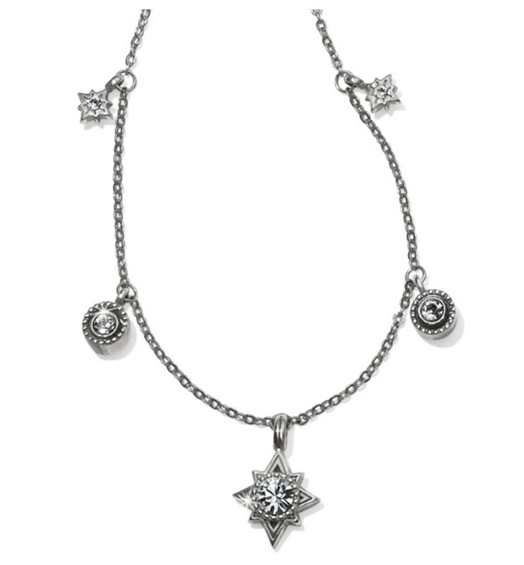 Halo Stargazer Short Necklace,JL9581