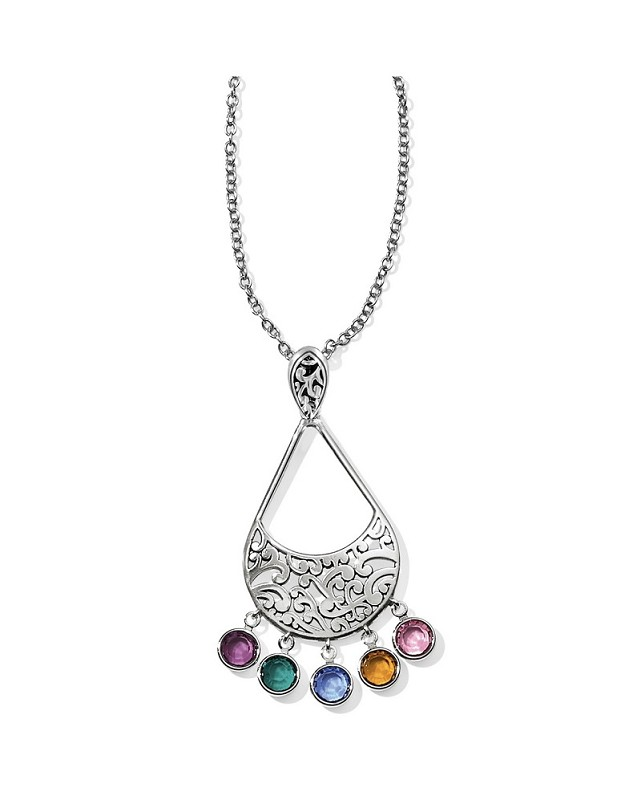 Elora Gems Drop Necklace,JL9763