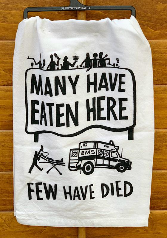 Eaten Here Towel,39049