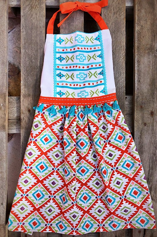 Aztec Hostess Apron,R4741