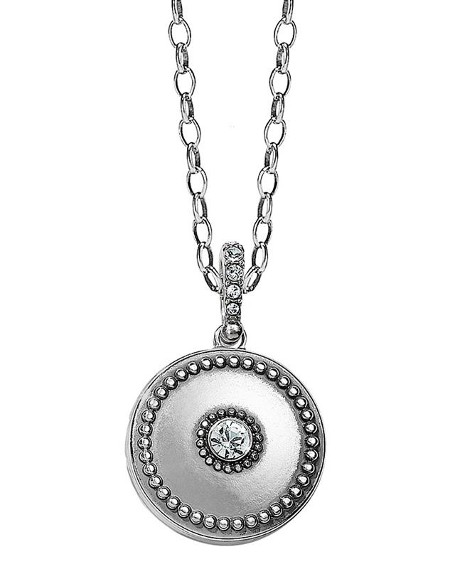 Twinkle Small Round Double Locket,JL9331