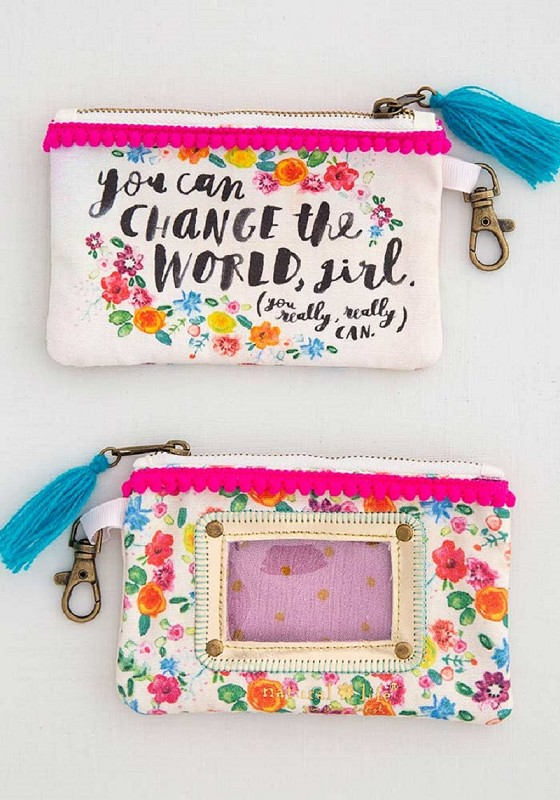 Change The World ID Pouch,CPRS148
