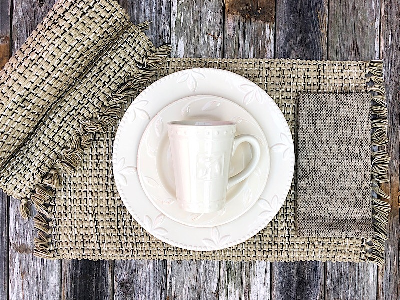 Basketweave Kitchen Linens,104-01G-PLACEMAT