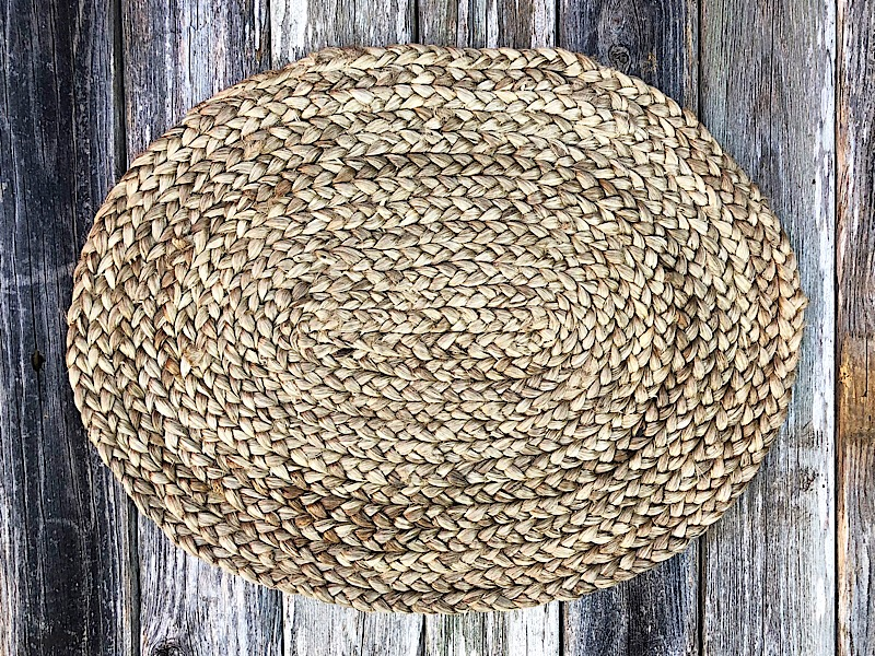 Jute Oval Placemat,101-01