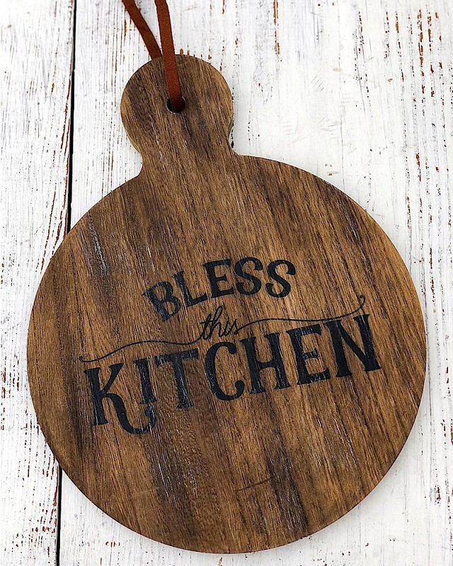 Bless This Kitchen Board,PS-7124