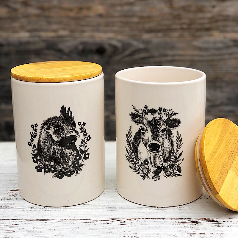 Sweet Farm Canister,190181-ROOSTER