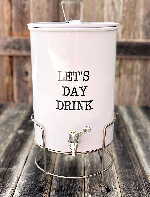 Circa Let's Day Drink Dispenser & Stand,42600314