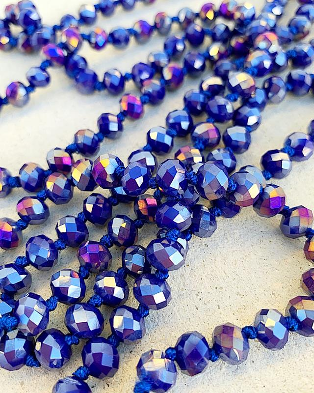 "Royal AB Brea 60"" Beads,BREA-ROYALAB"