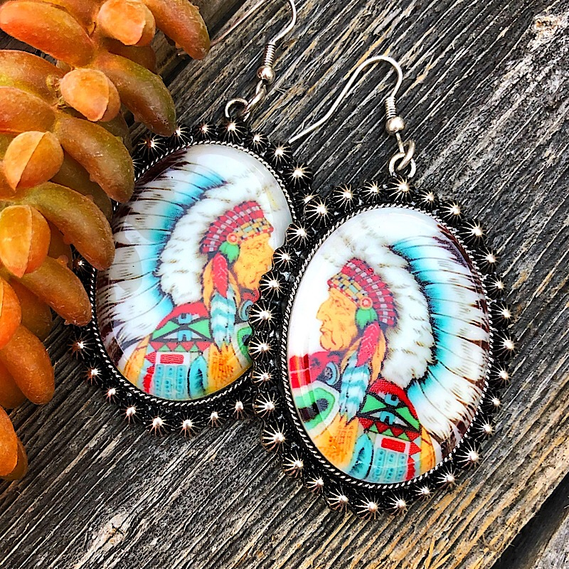 Chief Earrings,CHIEFER