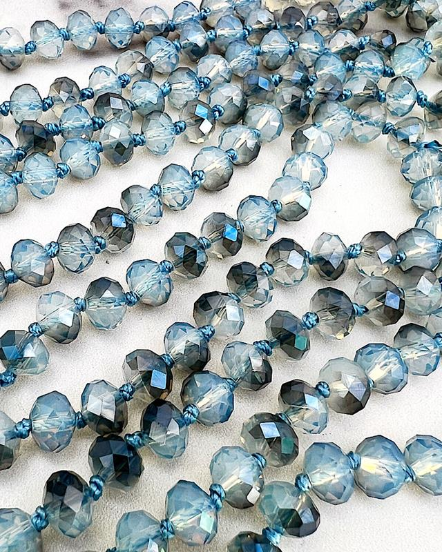 "The Blues Brea 60"" Beads,BREA-THEBLUES"