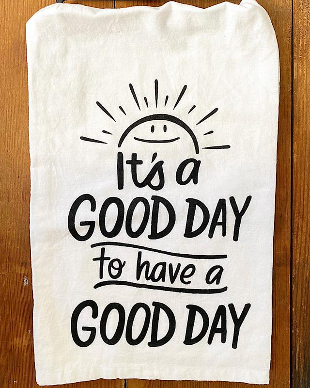 Good Day Towel,104252