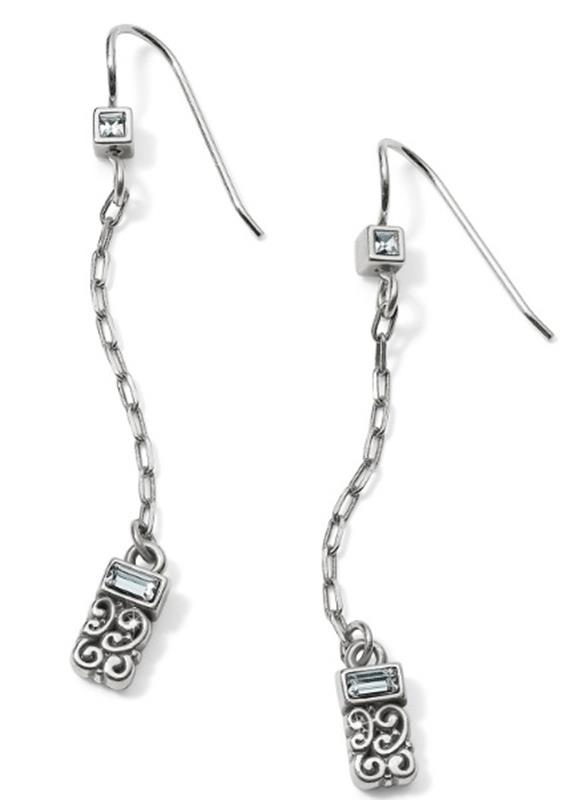 Baroness Petite Drop French Wire Earring,JA5121