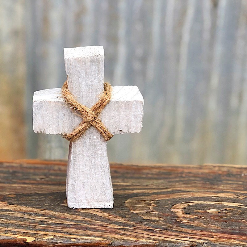 Grey Small Standing Cross,F1548