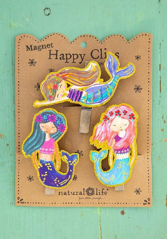 Mermaids Magnet Chip Clips,CHCL113