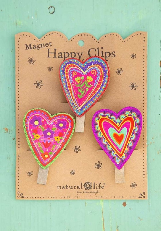 Hearts Magnet Chip Clips,CHCL111