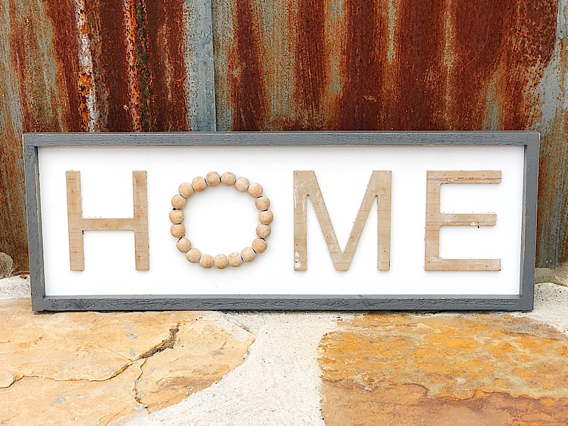 Bead Home Sign,MT2969