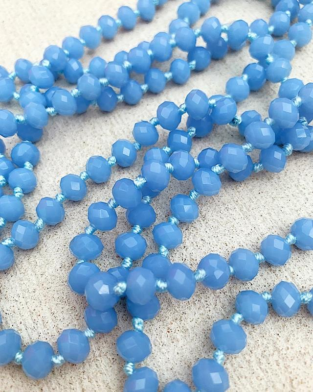 "French Blue Brea 60"" Beads,BREA-FRENCHBLUE"