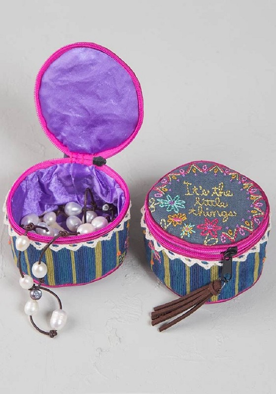 Little Things Jewelry Round,bag253