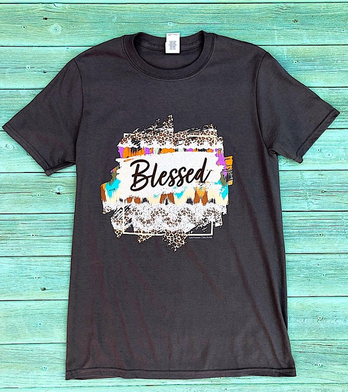 Blessed T-Shirt,SC559CH-SMALL