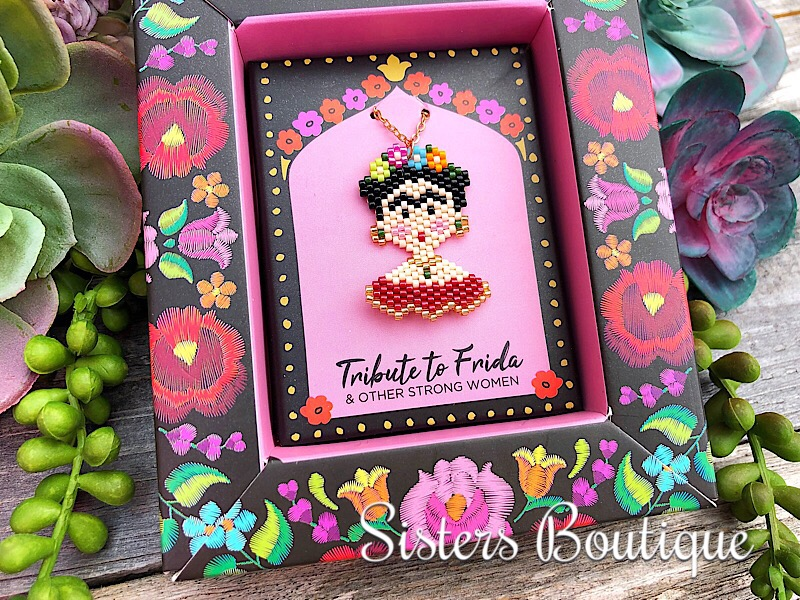 Tribute To Frida Necklace,11783