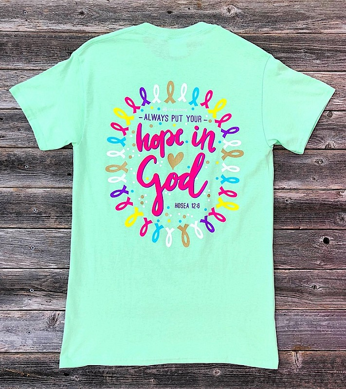 Hope in God Tee,IT-15547-SMALL