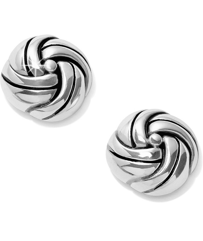 Interlok Knot Post Earring,JA5540