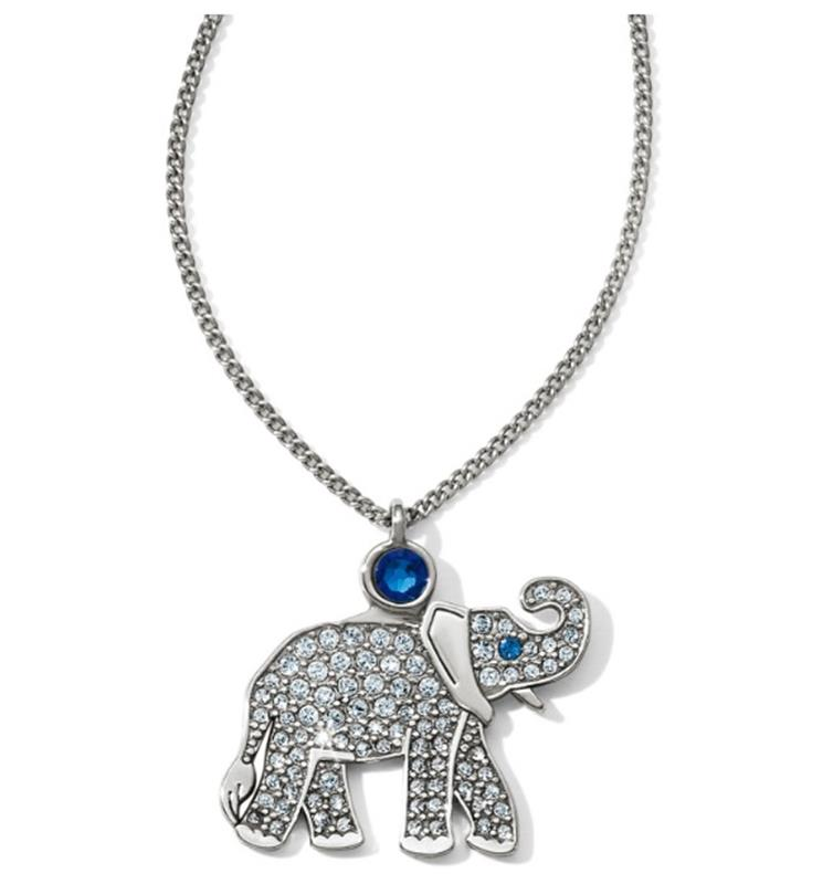 Africa Stories Safari Elephant Necklace,JM1511