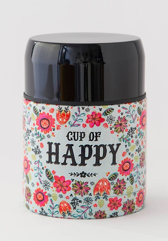 Cup Of Happy Soup Thermos,WB036