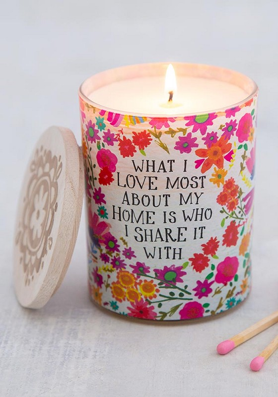 What I Love Most Soy Candle,CNDL032