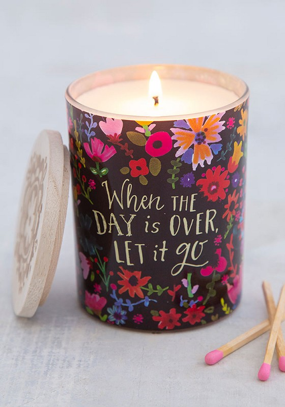 Let It Go Soy Candle,CNDL035