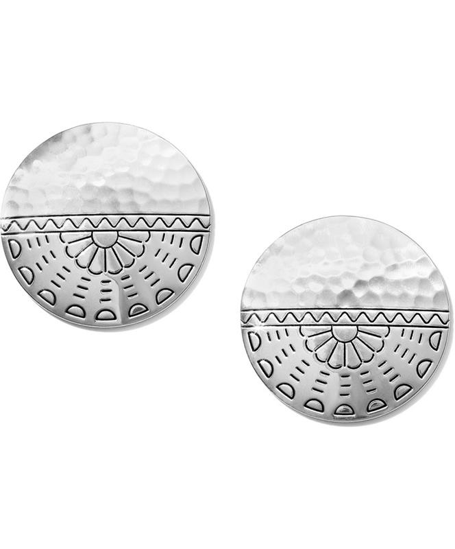 Marrakesh Mesa Disc Post Earrings,JA5603