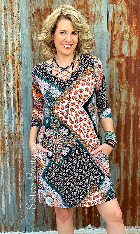 Spice Of My Life Dress,D90529-LARGE