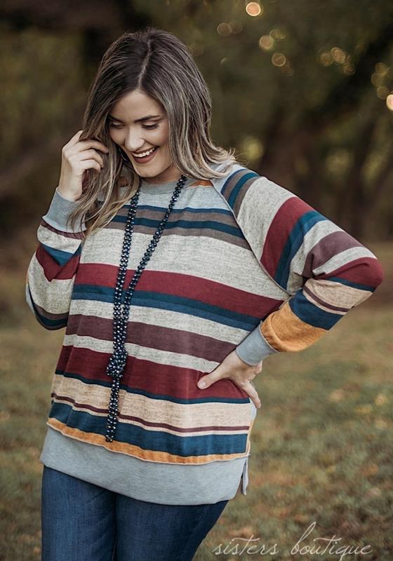 Marcy Pullover,T90716M-LARGE