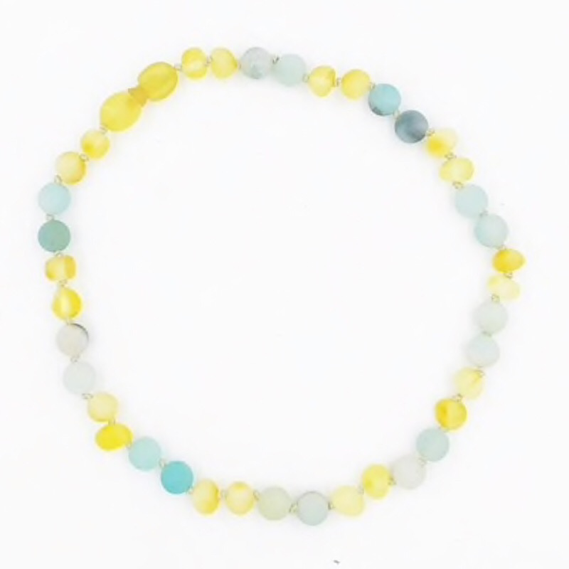 Amazonite Children's Amber Collection,AMAZONITE-BABYNK
